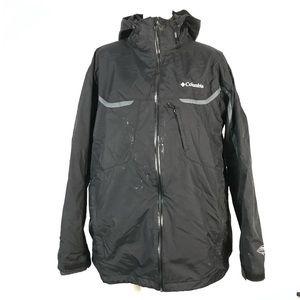 Columbia omni tech waterproof jacket *stain